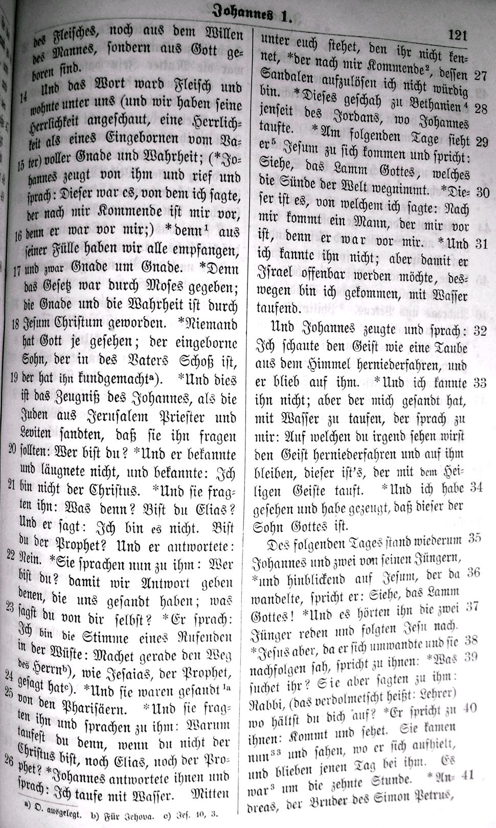 niemals alleine bibel